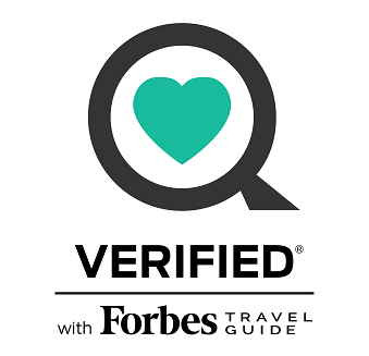 Verified in Forbes Health Security Travel Guide